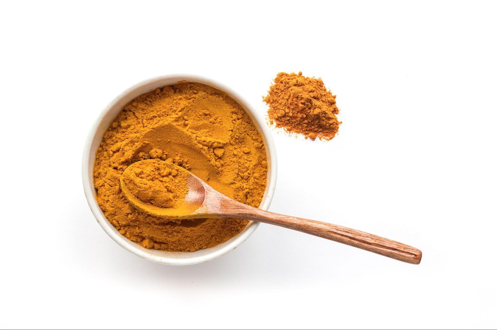 桑黃與薑黃都具有護肝、抗氧化與抗發炎功效