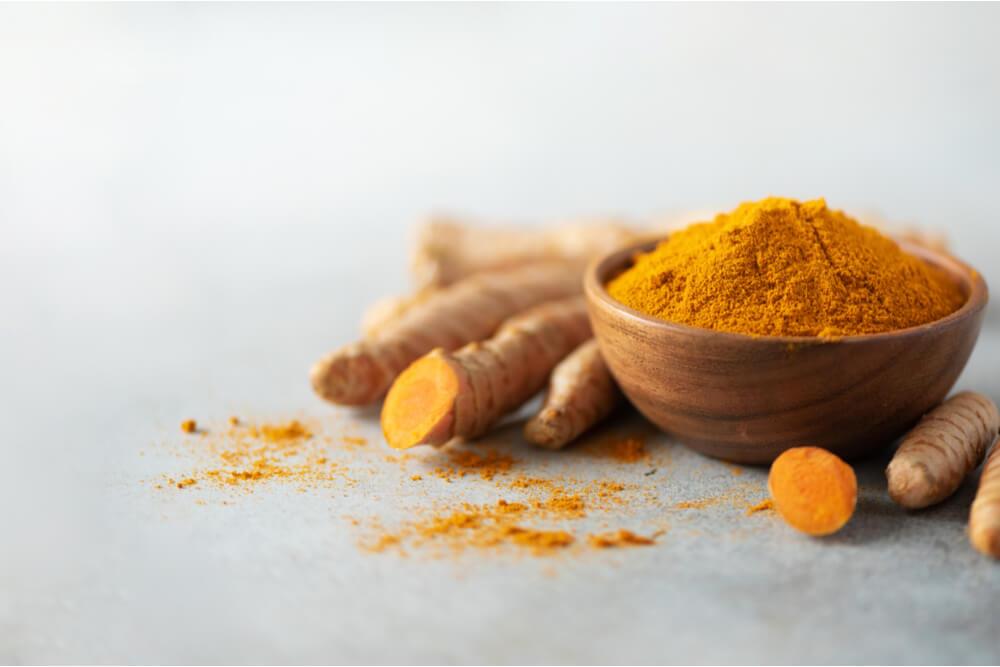 提升免疫力食物、營養素:薑黃素