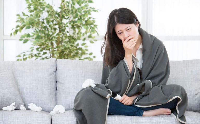 免疫力下降導致身體容易被病菌入侵